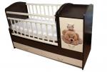 кровать для новорожденных трансформер фото